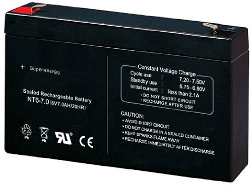 #Universal 6V7Ah 6V 7Ah Akku Batterie für Kinderfahrzeuge#