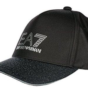 04ebc3f4d1aaab Emporio Armani EA7 adjustable men's hat baseball cap train 7.0 black