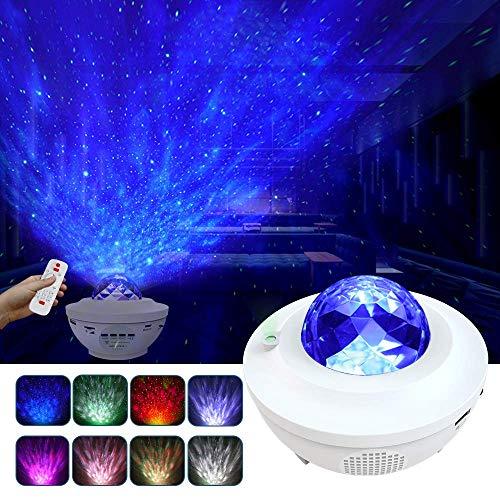 Lampada Proiettore Stelle, LED Luci Proiettore Romantica Cielo Stellato e Oceano Lampada, 10...