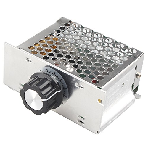AC 220V 4000W alta potenza SCR elettronico di tensione governatore dimmer regolatore di velocità...