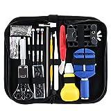 Kit di riparazione orologi Eventronic Professional Spring Bar set della rimozione orologiaio Tool kit con valigetta 147pz