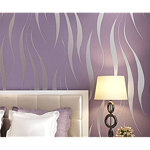 Purple bedroom wallpaper uk for Amazon bedroom wallpaper