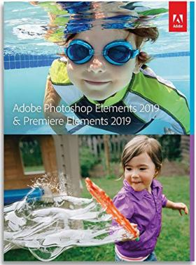 Adobe Photoshop Elements 2019 & Premiere Elements 2019 | Standard - Anglais  |  PC  | Téléchargement