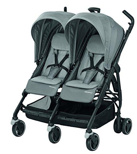 Bébé Confort Dana For2 Passeggino Gemellare Fratellare Compatto, Reversibile Reclinabile, Sedute...
