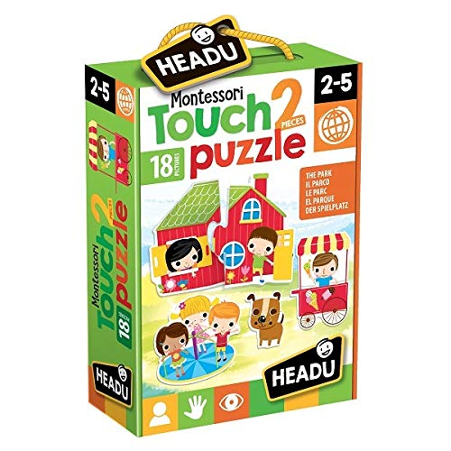 Headu IT20621 Touch 2 Puzzle Montessori