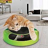 Juguete Tech Traders  para gato que consisten en atrapar el ratón de peluche en movimiento, ideal para arañar