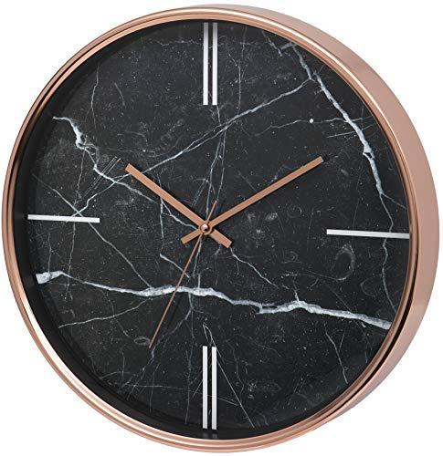 Unity, Bolton, Orologio da Parete Moderno, Effetto Marmo, 38cm