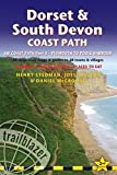 Trailblazer Dorset & South Devon Coast Path: SW Coast Path - Plymouth to Poole: 97 large-scale maps 7 guides to 48 towns and villages: Planning-Places to Stay-Places to Eat [Lingua Inglese]