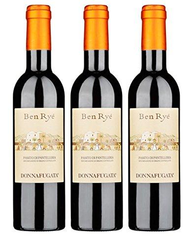 3 Bottiglie Donnafugata Vino Ben Ryé Passito di Pantelleria