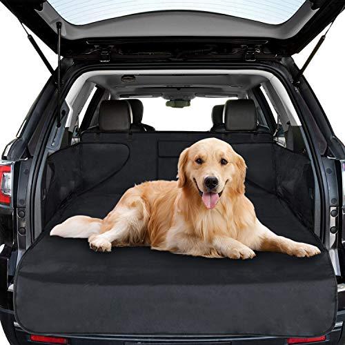 Protezione Bagagliaio Auto per Cani,Soulcker Telo Auto per Cani Impermeabile Copertura Universale per Bagagliaio Coprisedile Auto per Cani Bagagliaio Auto Fodera Antiscivolo Copribaule Impermeabile