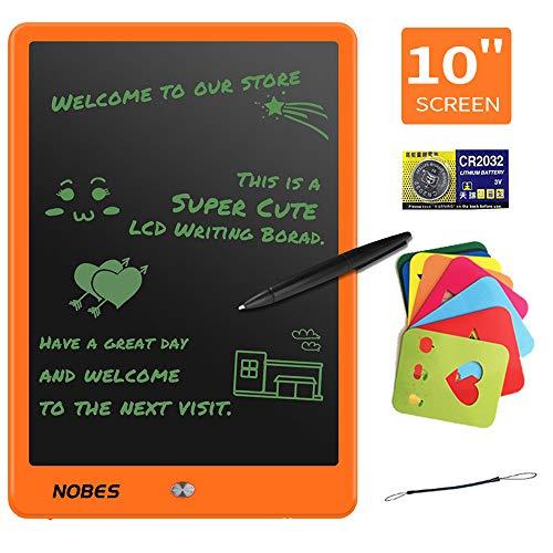 Tavoletta LCD da Disegno 10 Pollici, NOBES Tavoletta Grafica Scrittura Tablet LCD Portatile Memo,...