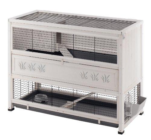 Kaninchenkäfig für die Wohnung - Indoor-Kaninchenstall von Ferplast 129 x 68 x 103,5 cm