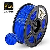 Enotepad PLA Plus 3D Printer Filament, 1.75mm PLA Plus Filament, Dimensional Accuracy +/- 0.02mm,Soft & Non-toxic Material, Enotepad PETG (0-PLA, Blue)