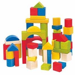 Woodyland 3,3 cm, in Legno, per Bambini, Confezione da 50 Pezzi