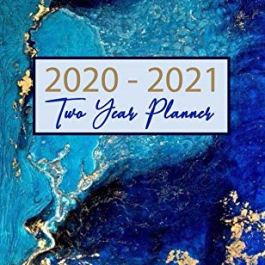 2020-2021 Two Year Planner: Weekly Pocket Planner: (Size : 4.0″ x 6.5″), 24- Month Calen