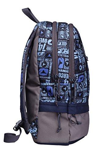 F Gear Burner 26 Liters P11 Sky Blue Casual Backpack 4