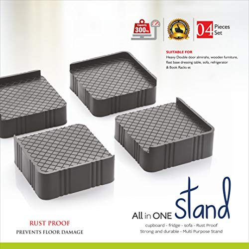 Golwyn Refrigerator Stand, Washing Machine Stand,Furniture Base Stand,Fridge Stands for Single Door and Double Door