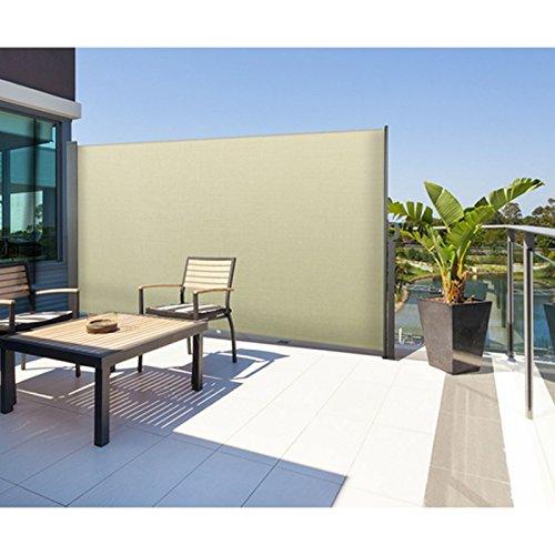 probache paravent ext rieur r tractable 300x160cm cru store vertical bricolage pas cher. Black Bedroom Furniture Sets. Home Design Ideas