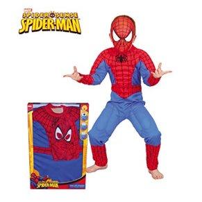 Rubie`s - Disfraz infantil de Spiderman Musculoso en caja (880061-L)