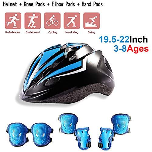 Set di casco protezione bambini, Scooter Di Pattinaggio A Rotelle Casco Da Skateboard Da Ciclismo,...
