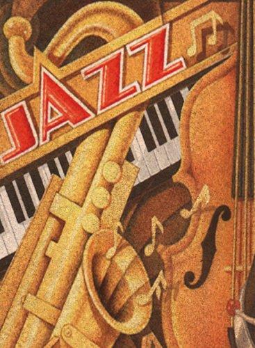 Clementoni Puzzle 30204 - Jazz - 500 pezzi Cork Puzzle (Sughero)