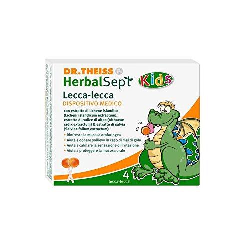 DR THEISS HERBALSEPT KIDS LECCA LECCA (per irritazione e mal di gola dei bambini)