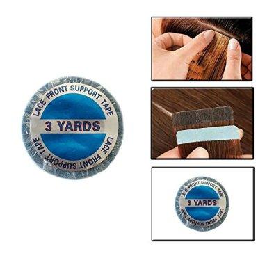 ShowJarlly-Doppelseitiges-Klebeband-1-Rolle-Blau-Packband-mit-Lace-Anstzen