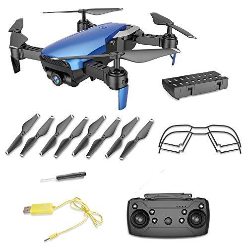 Yesmile Drone Quadcopter GPS Telecamera 0.3MP HD 2.4G Drone Professionale GPS con Grandangolare...