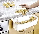 Wenko Auffangschale für Küchenabfälle, weiß
