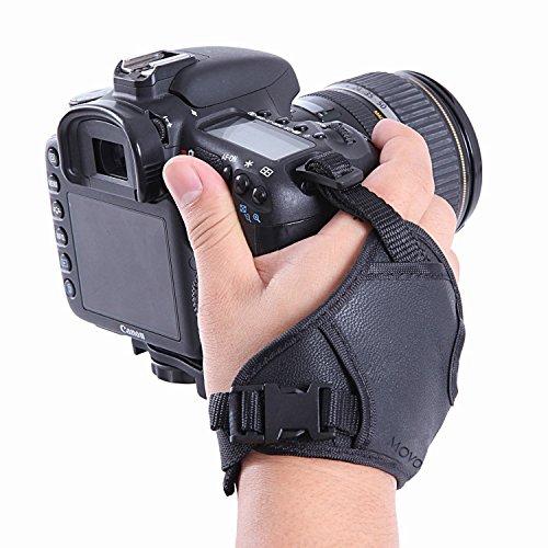 Movo Photo hsg-Guanto Porta Macchina Fotografica DSLR – previene la Caduta e stabilizza i Video.