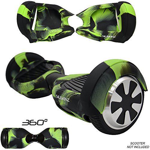 SILISKINZ 360 GRADO CUSTODIA PER GELATINA IN SILICONE Hoverboard per 6.5 'Swegway 2 Wheel Smart...