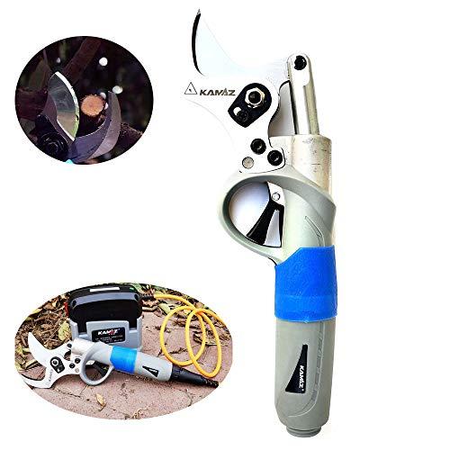 ZLing Tijeras eléctricas podadoras, Herramientas de Corte eléctricas jardín Profesional Tijera, 0,35 Segundos/Tiempo, Mejorar en Gran Medida la eficiencia de Trabajo 45mm/1.8 Inch