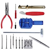 Bairicao 16pz Kit riparazione orologi cinturino da polso regolabile Band pin strap Link Remover Fix posteriore apri rimozione professionale