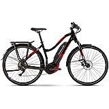 Haibike SDURO Trekking 2.0 Damen 500Wh 10G Deo. YCS XL schwarz rot Weiss E-Bike