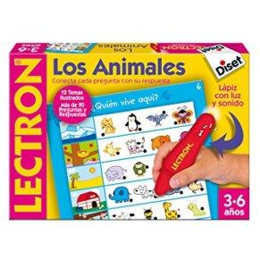 Diset 63883, Lectron Lapiz Los Animales, Juego educativo a partir de 3 años