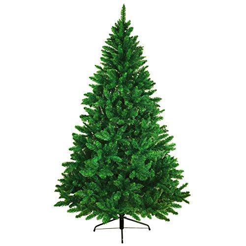 BB Sport Albero di Natale Realistico 240 cm Verde Scuro Abete Natale Artificiale