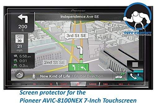 Tuff Protect Screen Protectors Tuff Protect Clear Screen Protectors for Pioneer Avic-8100nex Car Indash DVD Receiver