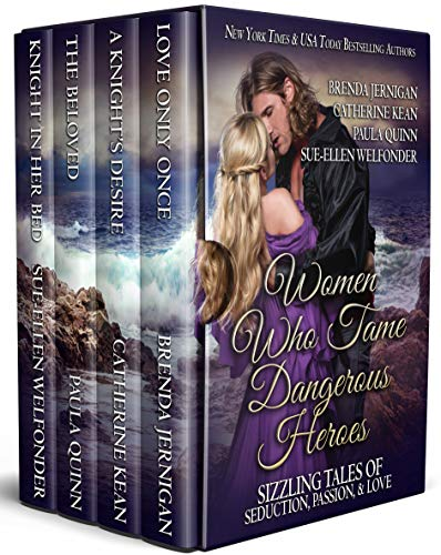 Women Who Tame Dangerous Heroes: Sizzling Tales of Seduction, Passion, and Love - Box Set Kindle by [Jernigan, Brenda, Kean, Catherine, Quinn, Paula, Welfonder, Sue-Ellen, Mackay, Allie]