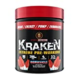 Sparta Nutrition Kraken Pre Workout Booster Hardcore 230g Dose Bombsicle