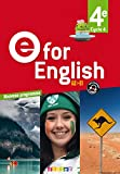 E for English 4e (éd. 2017) - Livre