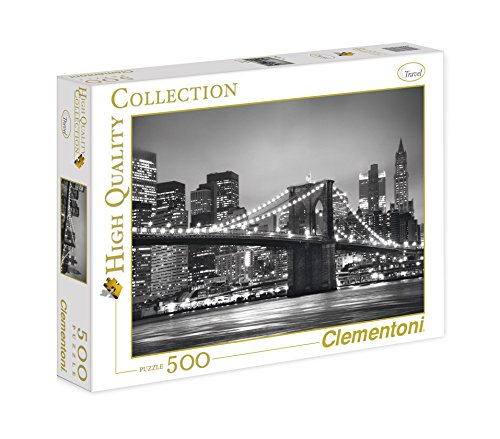 Clementoni 30169 - Puzzle Collezione New York, 500 Pezzi