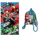 Avengers Marvel Telo Mare - Borsa da Spiaggia Avengers