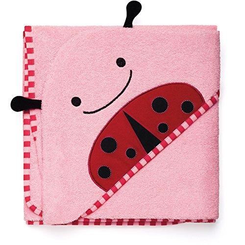 Skip Hop Skip Hop Zoo Hooded Towel Ladybug - Toalla con capucha