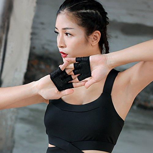 Yoga Guanti–Guanti Sport Fitness Four-Finger Uomini e Donne Outdoor Allenamento Fitness Aerial...