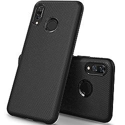 Kaufen iBetter Huawei P Smart+ Hülle, Huawei P Smart Plus Hülle, [Schwarz Soft Hülle]Ultra Thin Silikon Schutzhülle Tasche Soft TPU Hüllen Handyhülle für Huawei P Smart+ Smartphone