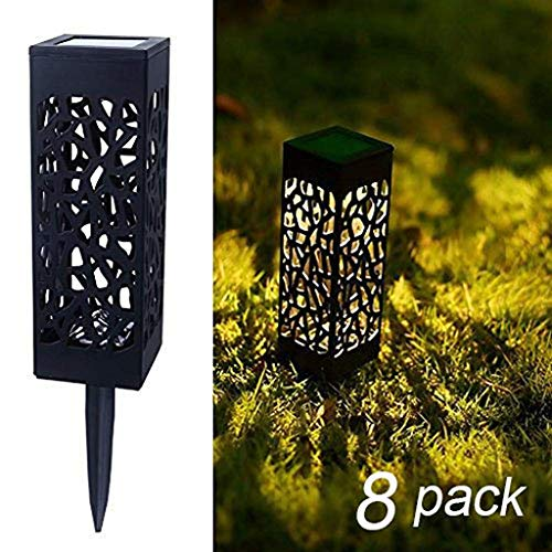 HASTHIP® 8 Pcs Solar Powered LED Garden Lights, Garden Fancy Decorative Roof Lights Automatic Led For Patio, Outdoor Weatherproof For Driveway Garden Path Yard, Latest Garden Hanging Indoor Underground lights