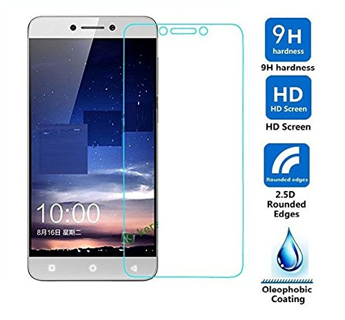 Royal Touch ® Coolpad Cool 1 - 9H Premium Tempered glass screen protector with free cleaning cloth and alcohol pad kit