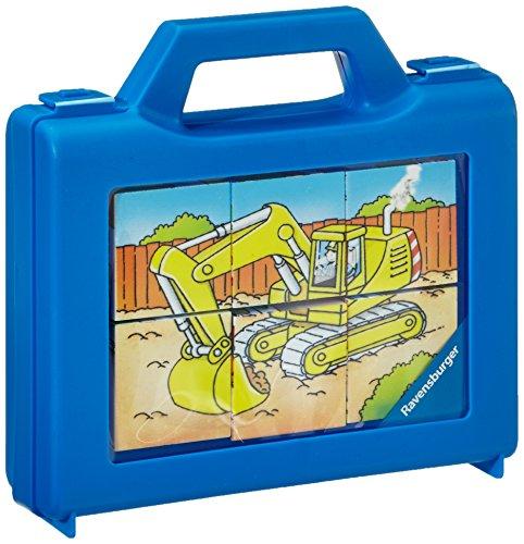 Ravensburger 07470 - Veicoli in funzione, Puzzle con cubi, 6 pezzi