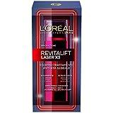 L'Oréal Paris Revitalift Laser X3 Doppio Trattamento Crema Viso Antirughe Anti-Età Globale con Pro-Xylane, 50 ml