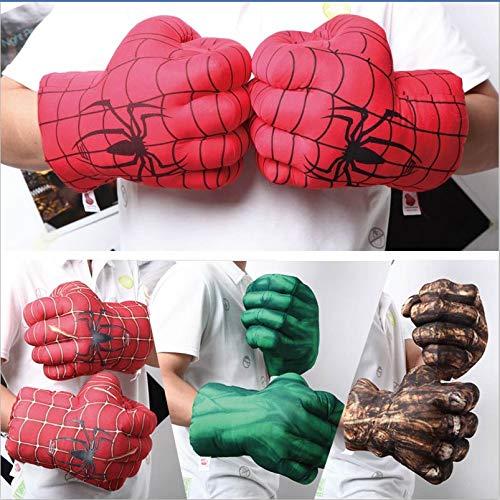 Guanti Sportivi in Peluche Hulk, Guanti da Boxe per Bambini, Guanti da Supereroe, Guanti per...